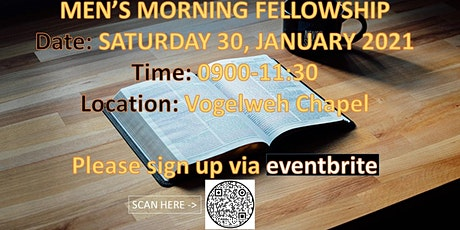 VGS Men's Fellowship: Coffee and Conversation Tickets