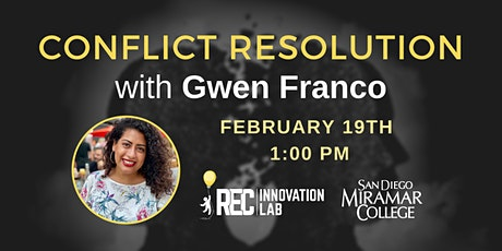 Conflict Resolution with Gwen Franco tickets