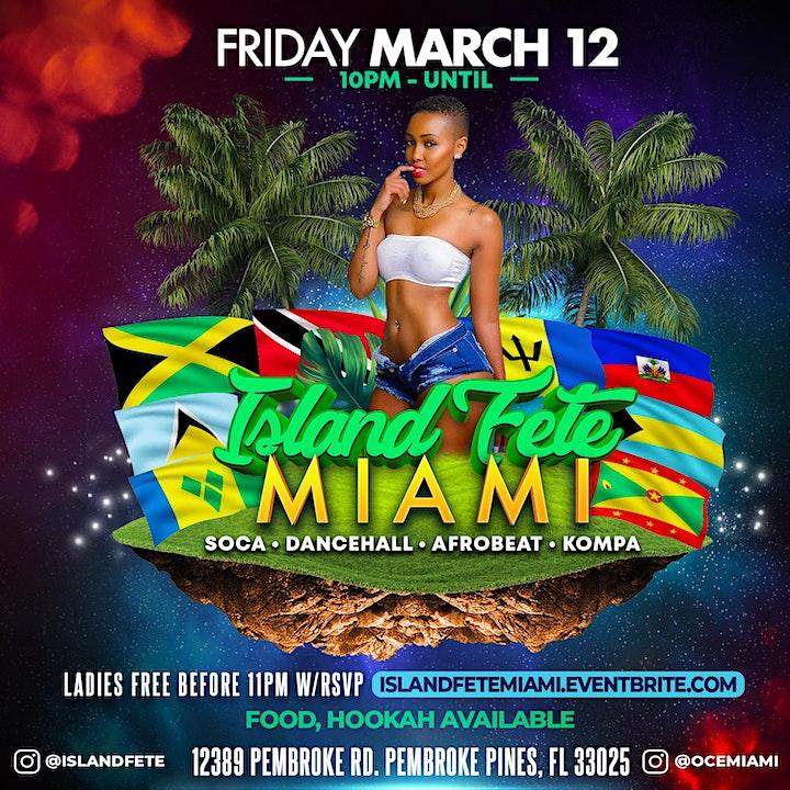 Island Fete Miami (Spring Break) image