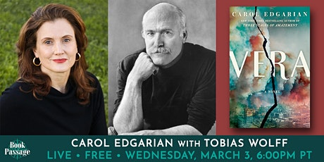 Book Passage Presents: Carol Edgarian with Tobias Wolff tickets