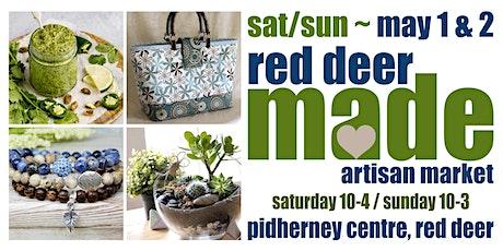 Red Deer MADE Artisan Market tickets