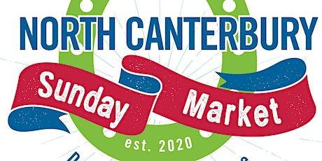 The North Canterbury Sunday Market tickets