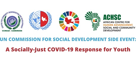 CSOCD59 Side Event: A Socially-Just COVID-19 Response for Youth tickets