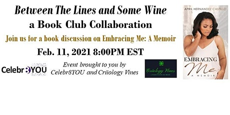 Celebr8YOU & Crüology Vines - Between The Lines & Some Wine Book Club 5 tickets