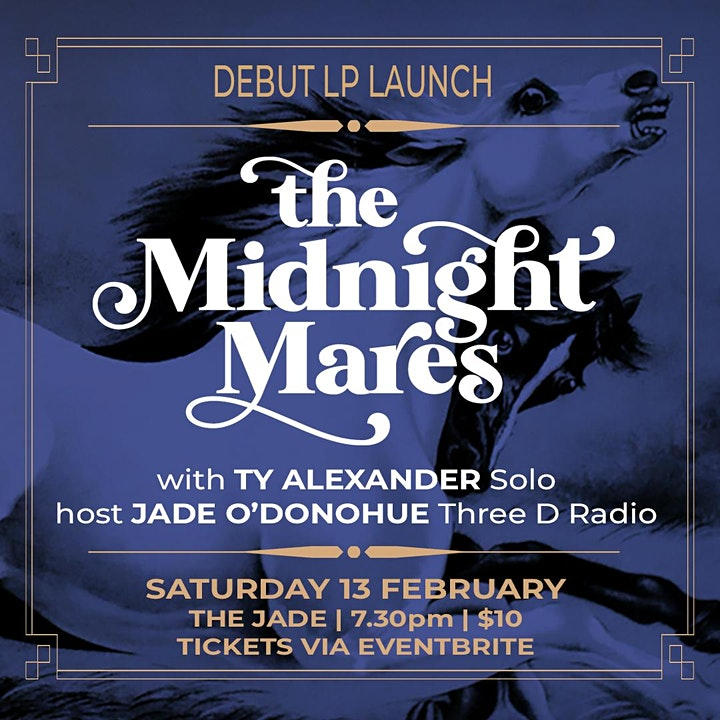 The Midnight Mares Debut Album Launch image