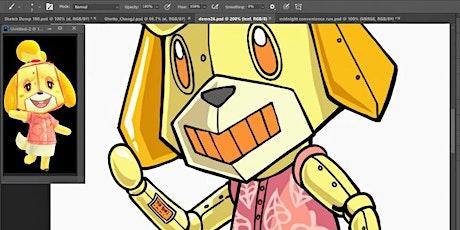 Advanced Cartooning & Anime - LIVE Virtual Art Class tickets
