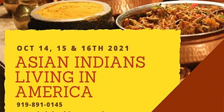 Asian Indians Living In America Virtual Conference tickets