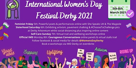 International Women's Day Derby Festival tickets