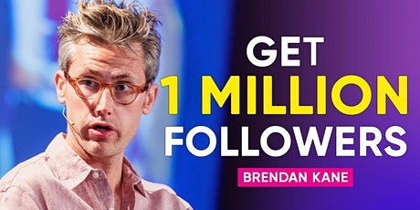 Live Interview with Brendan Kane, author of One Million Followers tickets