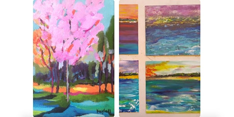 Painting Class: Expressive Landscape tickets