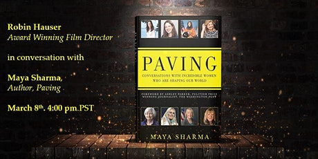 Paving: Film Director Robin Hauser in conversation with Maya Sharma tickets
