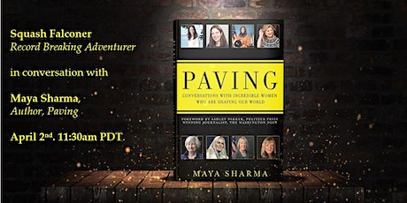 Paving: Adventurer Squash Falconer in conversation with Maya Sharma tickets