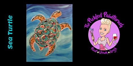Painting Class - Sea Turtle - March 7, 2021 tickets