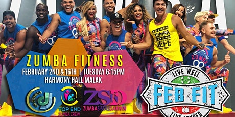 Zumba Fitness with Top End Zumba Crew at Feb Fit 2021 tickets