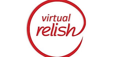 Virtual Speed Dating Orange County | OC Virtual Singles | Relish Dating tickets