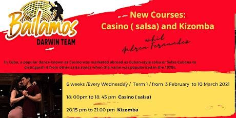 Kizomba course tickets