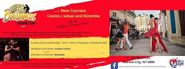 Kizomba course image