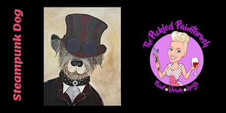Painting Class -  Steampunk Dog - March 21, 2021 tickets