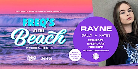 freq music in association with delete presents freqs at the beach tickets