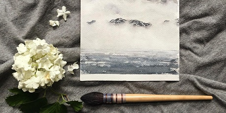 Watercolour Painting - Beach Landscape tickets
