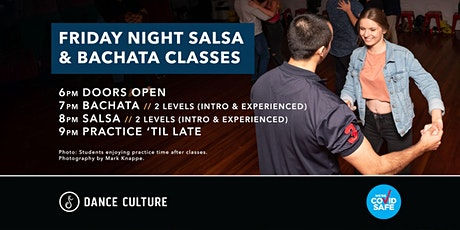 Friday Night Salsa & Bachata Classes // Feat. Madalyn & Jai tickets