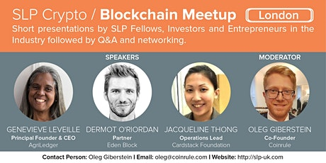 Crypto/Blockchain Meet & Outlook 2021 tickets