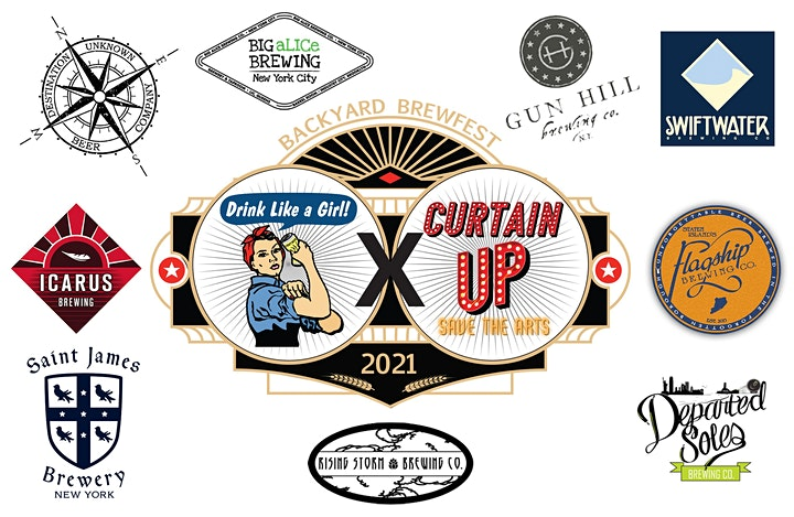 DLG X Curtain Up Backyard Brewfest (Big aLICe- Long Island City) image