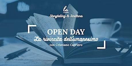 La Classe Storytelling e Scrittura - Open Day con Cristiano Carriero biglietti