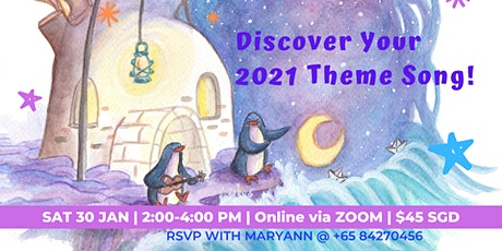 Online Workshop: Discover Your 2021 Theme Song! tickets