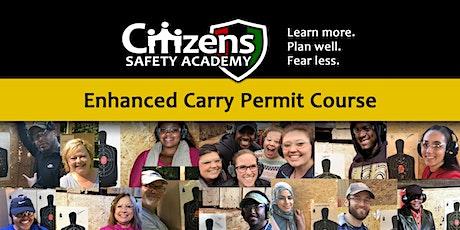 Enhanced Handgun Carry Permit Class (Private) tickets