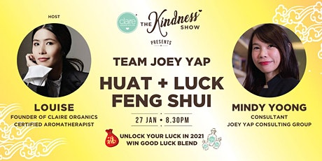 2021 HUAT + LUCK FENG SHUI with TEAM JOEY YAP tickets