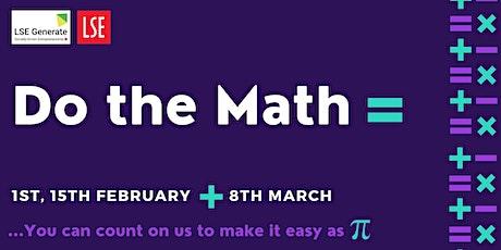 Do The Math  - Accountancy Series tickets