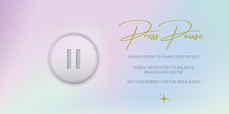 Press Pause tickets
