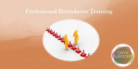 Maintaining Professional Boundaries (CPD Accredited Training) tickets