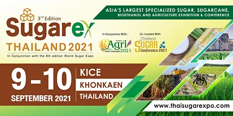 Sugarex Thailand 2021 tickets