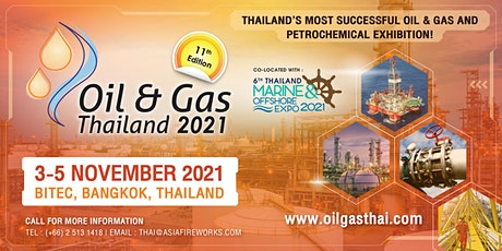 Oil & Gas Thailand (OGET) 2021 tickets