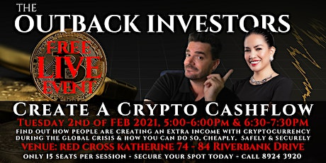 Create a Cashflow with Crypto : LIVE Event - Session Two tickets