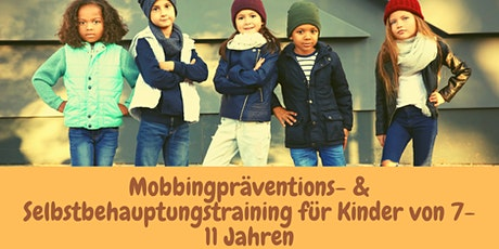 Mobbingpräventions- & Selbstbehauptungskurs Tickets