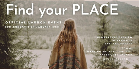 Find your PLACE Official Launch Party tickets