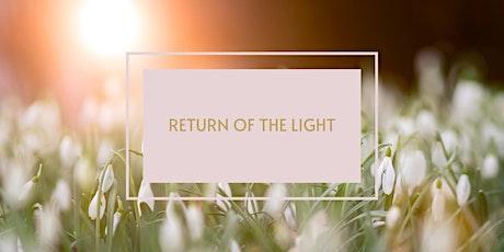 Return of the Light tickets