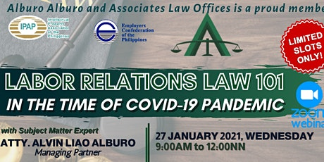 Labor Relations Law 101 in the Time of COVID-19 bilhetes