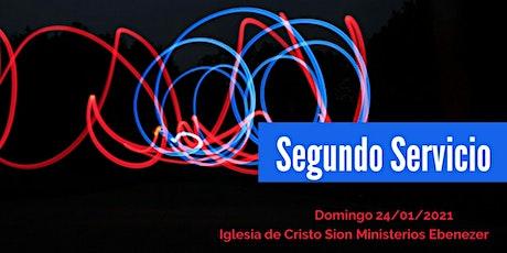 Segundo Servicio Domingo 24/01/2021 boletos