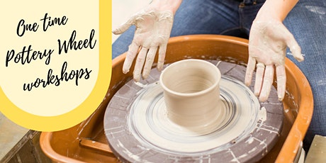 One Time Pottery Wheel Workshop (March-April) tickets