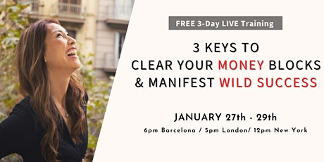 3 Keys to Clear Your Money Blocks & Manifest Wild Success tickets