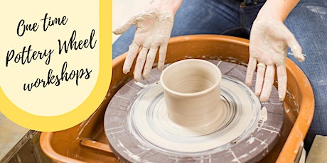 One Time Pottery Wheel Workshop (July & Aug) tickets