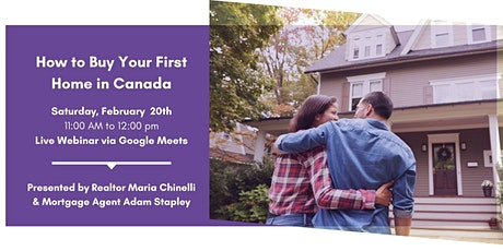 How to Buy Your First Home in Canada tickets