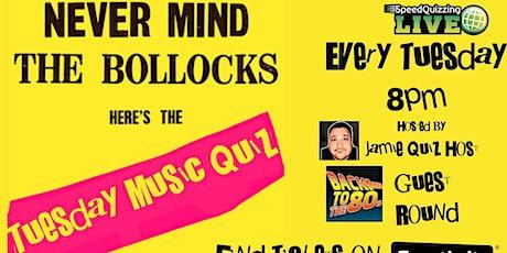 Speedquizzing Music Quiz - 80s Hits Edition tickets