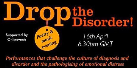 Drop the Disorder poetry & music evening tickets