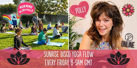 Morning Gloryville Sunrise Disco Yoga Flow tickets