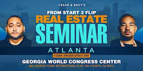 Cesar & DJ Envy's Real Estate Seminar [ATLANTA] tickets